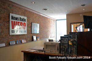 WEBO's storefront studio