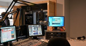 New main studio for WVBR