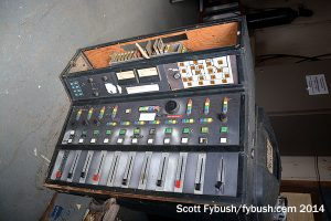 A John B. Hill console