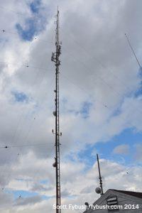 WVBR's tower
