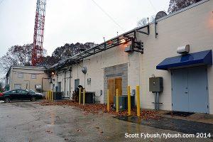 The Gross transmitter building