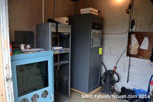 WKBI transmitter room