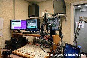 The WLLW/WFLK studio