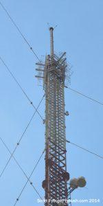 WNCX's antenna