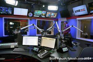 CFRB studio...