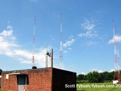WAKR's transmitter site