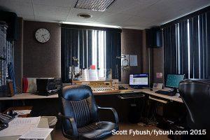 The WBUG studio...