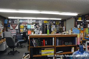KFJC's main office