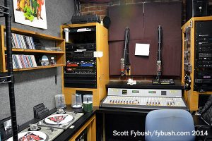 KFJC production room