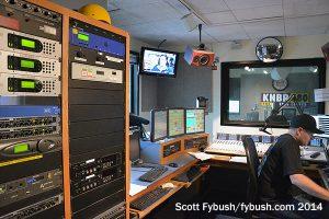 KNBR control room