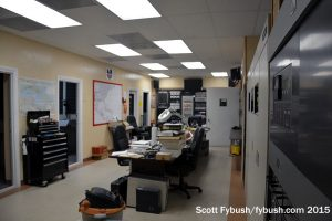 WAQI transmitter room