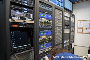 Radio One rack room
