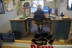 WBYR's studio
