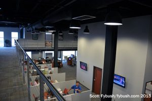 WTHI-TV's newsroom