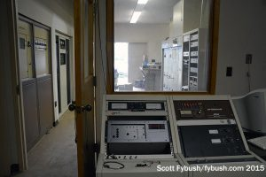 Control room at 850