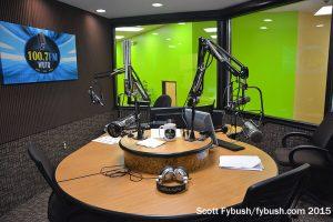 WUTQ's studio