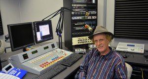 Mark West in the new studio