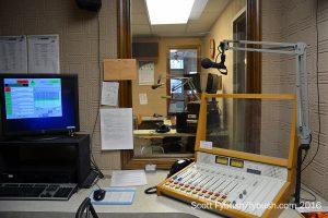 WDNY AM studio