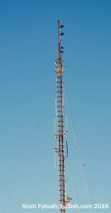 WRXL's tower