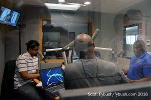 WCMC-FM/WDNC studio