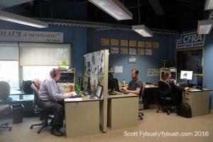 CFRA newsroom