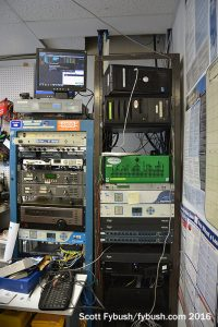 WMVL's racks