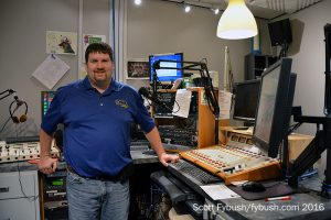 Joe in his studio