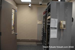 WGVU radio rack room