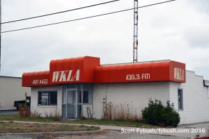 Former WKLA studio