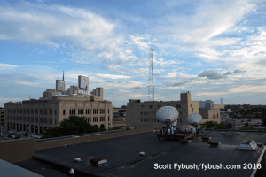 WDIV rooftop view