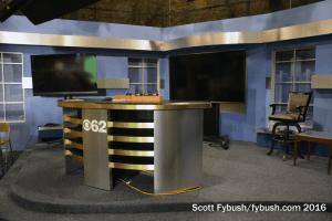 WWJ-TV studio