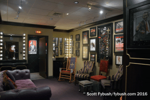 An Opry dressing room