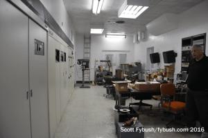 WLAC transmitter room