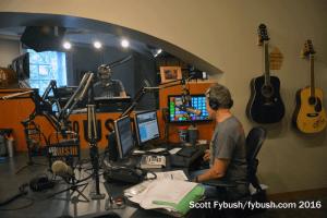 On the air at WSM
