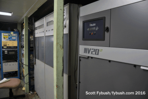 WWSE transmitter room