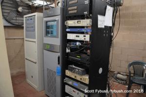 WILQ's transmitter room