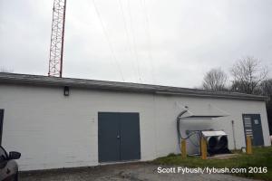 WMFD/WVNO transmitter building