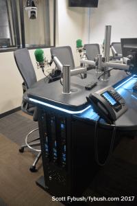 CKGL talk studio