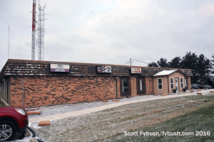 Lafayette TV's radio building