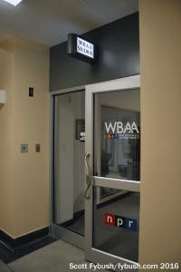 WBAA doorway