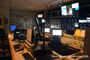 WBZ-TV control room