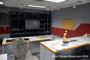 Old WSTM control room