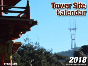 ONLY FIVE LEFT! Signed and Numbered 2018 Tower Site Calendar