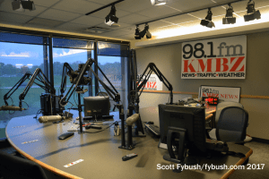 KMBZ-FM studio