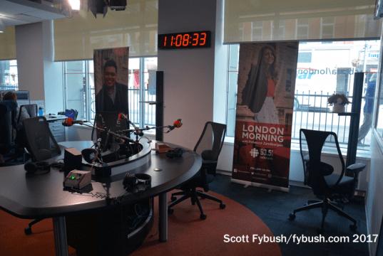 CBC studio