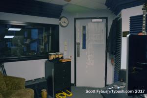 Control room door