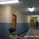 Upstairs hallways