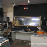 Old radio studio