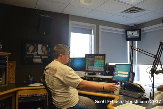 WITL-FM studio
