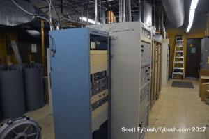 WITL-FM transmitter room